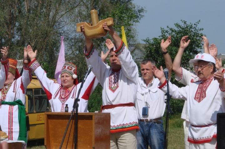Эрзяне провели традиционное моление Велень Озкс