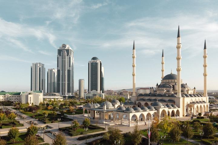 Этнодвор развернулся в день Грозного в Чечне