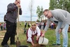 В финно-угорском этнопарке высадили полстотни кедров