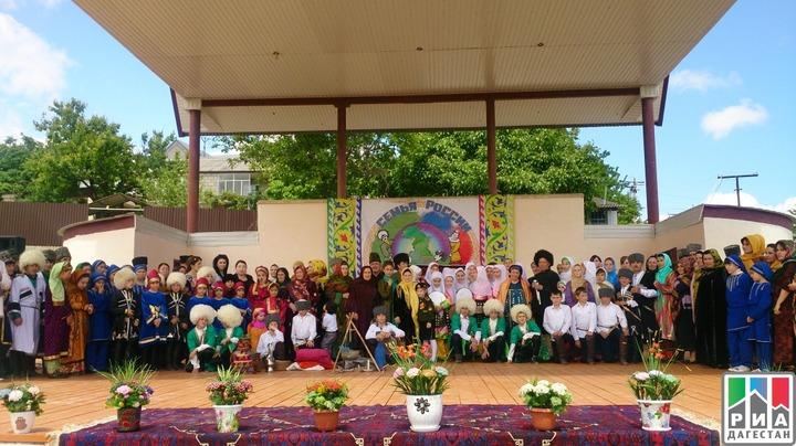 В Дагестане прошел праздник семейного творчества