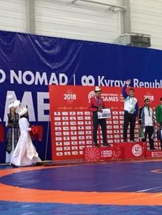 Башкирские спортсмены завоевали первые медали на Играх кочевников в Киргизии