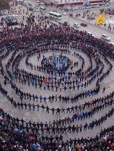 В Якутске станцевали осуохай в День республики