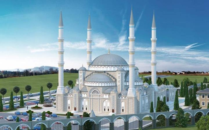В Симферополе возведут мечеть с элементами крымскотатарской архитектуры