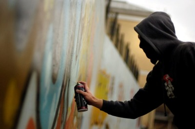 Борзинского подростка осудят за разжигающие граффити