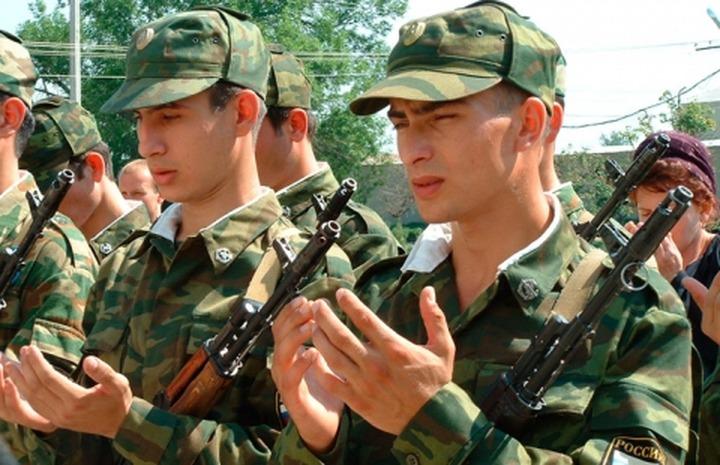 В армию будут больше призывать новобранцев из республик Северного Кавказа