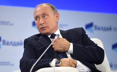 """Путин призвал """"не выпячивать пещерный национализм"""""""