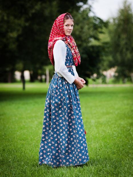 Русский сарафан