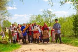 Шествие с волочёбными песнями пройдет на Егория Вешнего в Подмосковье