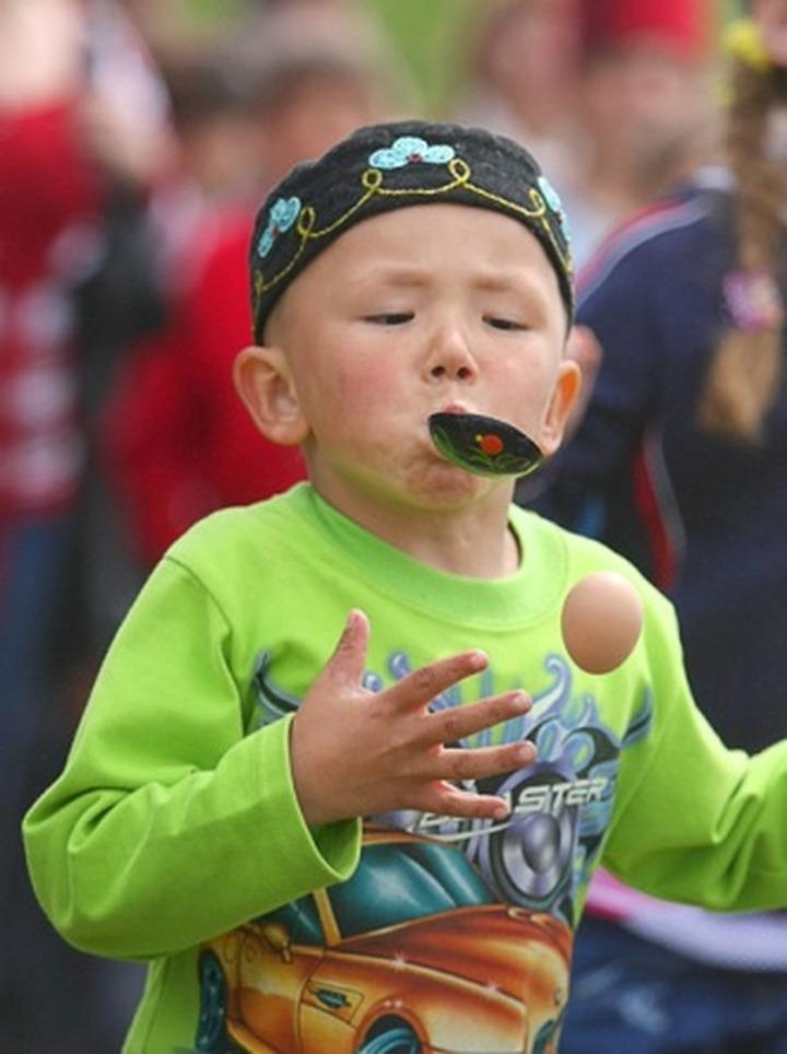 В Челябинске провели детский Сабантуй