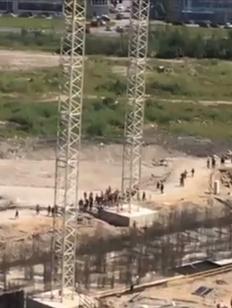Массовая драка мигрантов в Петербурге закончилась задержанием 30 человек
