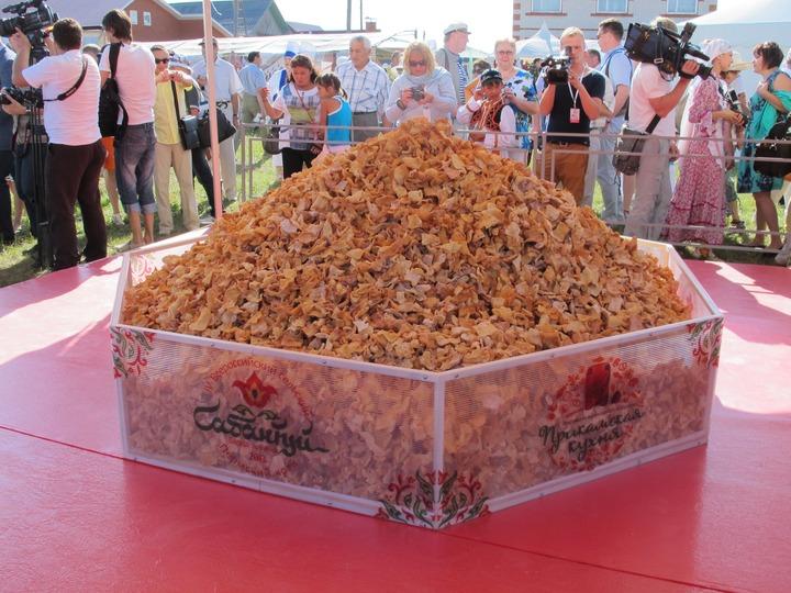 Всероссийский сельский Сабантуй подсластили новым кулинарным  рекордом