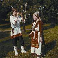 Национальный костюм мордвы