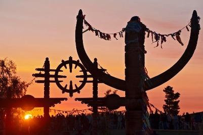 В Якутии прошел праздник встречи Солнца