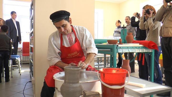 В Рязанской области открыли центр народных художественных промыслов и ремесел