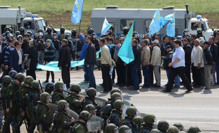 Поклонская отказала Меджлису крымских татар в существовании