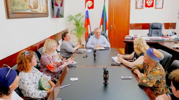 Миннац Дагестана встретился с журналистами Гильдии