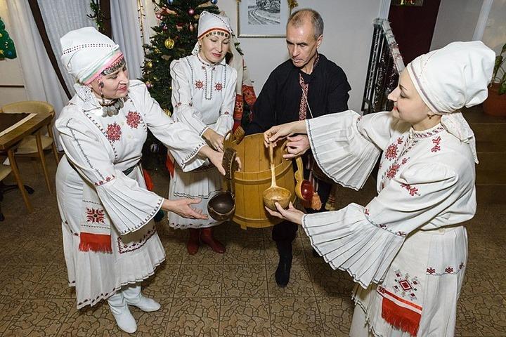 Самарские чуваши отметили праздник урожая