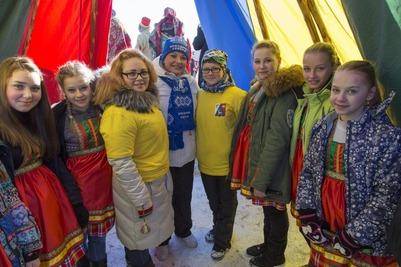 В Мурманской области чествовали оленеводов