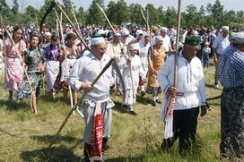 В Башкирии выбрали лучшего косаря