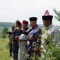 Шаманский обряд в Иркутской области