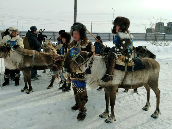 Многодетной семье оленеводов вручили грант Главы Якутии