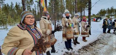 Эвенки Якутии провели охотничий обряд на празднике первого снега