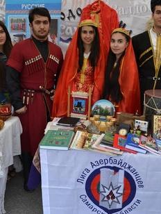 Самарские азербайджанцы отметили Международный женский день