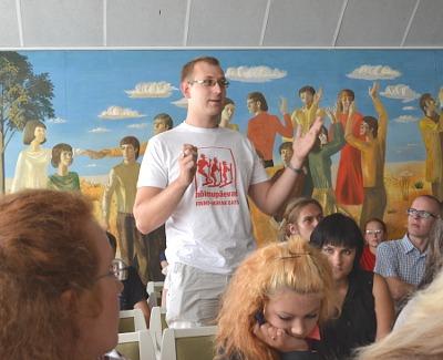 Конгресс Молодежной ассоциации финно-угорских народов обсудил проблемы организации и выбрал новое руководство