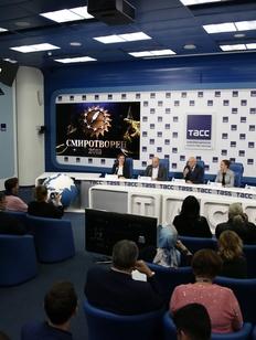 """Итоги конкурса """"СМИротворец-2019"""" подвели на пресс-конференции в ТАСС"""