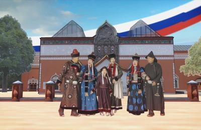 Представители разных народов России спели гимн РФ