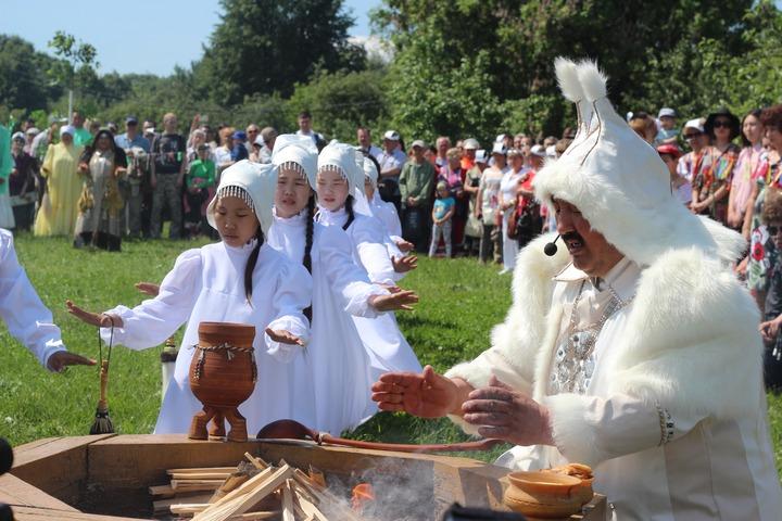 Якутский праздник Ысыах в Москве