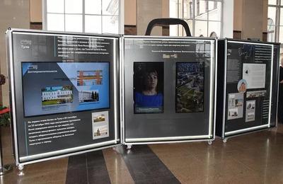 На вокзале в Туле заработала мультимедийная ремесленная выставка