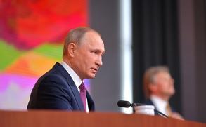 Путин на пресс-конференции ответил на вопрос о национальных языках в республиках
