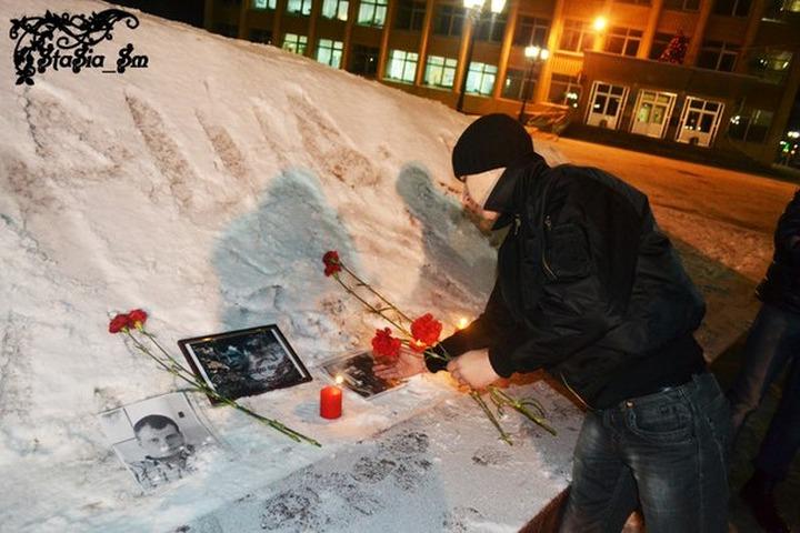 В Рязани задержали националистов на акции памяти Егора Свиридова