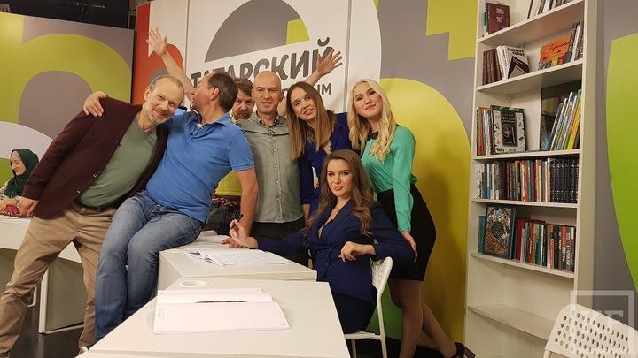 Видеоуроки татарского языка с Дмитрием Петровым записали в Казани