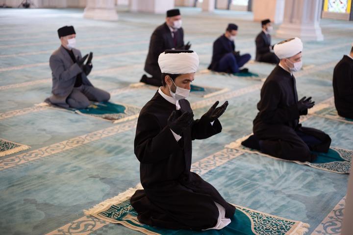 Ураза-байрам-2020 в Московской Соборной мечети