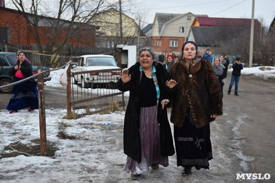 В поселке Плеханово стали  собирать подписи за выселение цыган