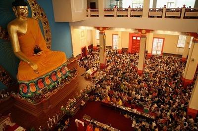 Цаган Сар объявлен выходным днем в Калмыкии