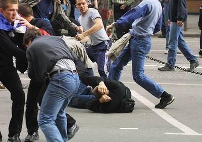 Уроженцы Чечни и Ингушетии задержаны за драку с футбольными болельщиками