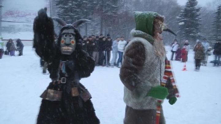 В Москве прошли святочные состязания по русским видам спорта