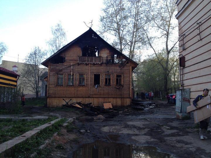 В Сыктывкаре подожгли Центр культуры коми-ижемцев