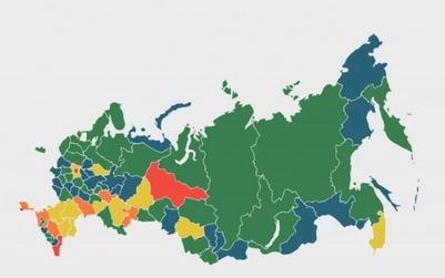 ЦИНК опубликовал второй рейтинг межэтнической напряженности в регионах России