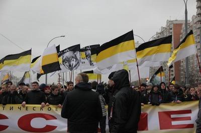 """В Волгограде националисты провели """"Русский марш"""""""