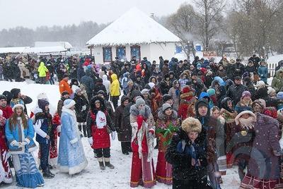 """В Белгородской области отгуляли  """"Маланью зимнюю"""""""