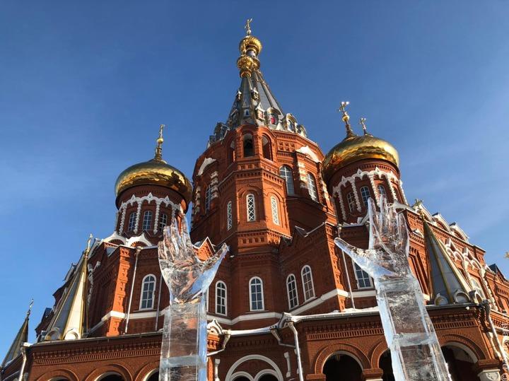 Ледовый фестиваль в Ижевске
