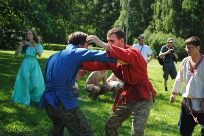 Традиционные русские кулачные бои пройдут в Москве 25 июля