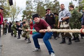 Третья казачья спартакиада прошла в Карачаево-Черкесии