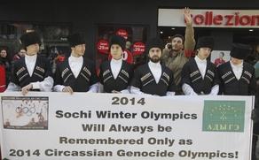 В Турции прошла тысячная акция черкесов против Олимпиады в Сочи