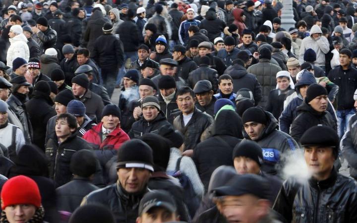 За год в Россию въехало более семи миллионов мигрантов из Средней Азии