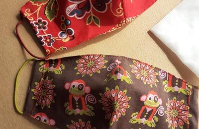 Мастерица из Астрахани сшила многоразовые маски от коронавируса с русским народным орнаментом